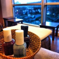 Photo taken at Manos Nail Lounge by Candy D. on 9/9/2012