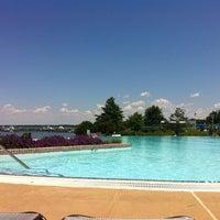Photo taken at Pool @ Hyatt. by Eduardo A. on 6/8/2012