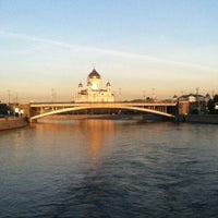 Photo taken at Moskva River by Olga S. on 6/22/2012