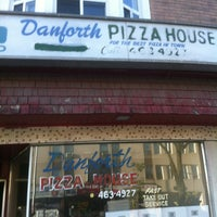 Photo taken at Danforth Pizza House by Diego I. on 8/20/2012