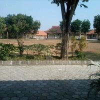 Photo taken at smp 2 tasikmadu by Maseko R. on 8/22/2012