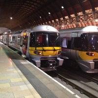 Photo taken at Heathrow Express Train - Paddington [PAD] to Heathrow [HXX] by Rami on 5/23/2012