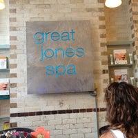 Photo taken at Great Jones Spa by Jeremy B. on 7/1/2012