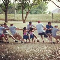 Photo taken at Elmwood Park by Minh Lee G. on 8/8/2012