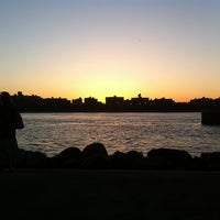 Photo taken at Grand Ferry Park by Adam S. on 5/12/2012