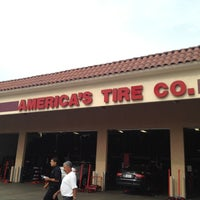 Photo taken at America's Tire Store by Carlos T. on 7/12/2012