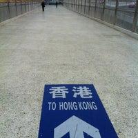 Photo taken at Huanggang Immigration Port by Vladimir Y. on 3/10/2012