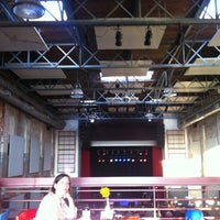 Photo taken at The Haw River Ballroom by Evan K. on 5/6/2012