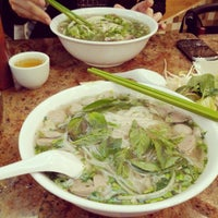 Photo taken at Pho Bang New York by Albert D. on 4/24/2012