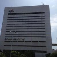 Photo taken at Hotel Nikko Himeji by MB エム ビー on 8/30/2012