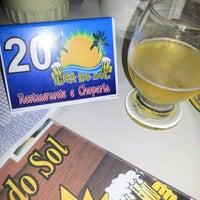 Photo taken at Restaurante e Choperia Ilha do Sol by Walison P. on 8/29/2012