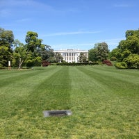 Photo taken at The White House Southeast Gate by David Y. on 4/29/2012