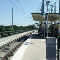 Photo taken at Forest Lane Station (DART Rail) by Mike D. on 5/17/2012