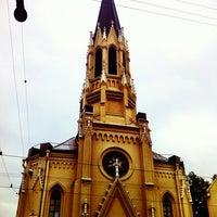 Снимок сделан в Лютеранская церковь Святого Михаила пользователем Nata Chernovalova 7/1/2012