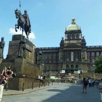 Photo taken at Wenceslas Square by Petrolhead on 5/22/2012