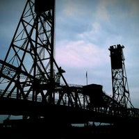 Photo taken at Hawthorne Bridge by Laura B. on 8/18/2012