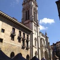 Photo taken at Catedral de Santiago de Bilbao by Josmamu on 8/6/2012
