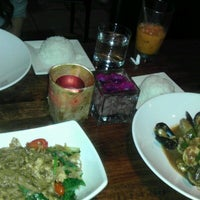 Photo taken at Little Basil Thai Cuisine by Chris P. on 7/13/2012