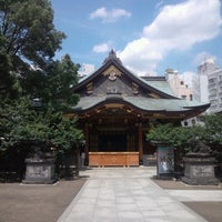 Photo taken at Yushima Tenmangu Shrine by Shizuka T. on 8/9/2012