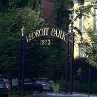 Photo taken at Ledroit Park Gate by Meredith S. on 5/19/2012