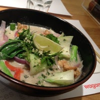 Photo taken at wagamama by Roza I. on 9/8/2012