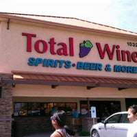 Photo taken at Total Wine & More by Airek P. on 4/6/2012