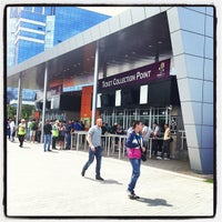 Photo taken at Ticket Office / Donbass Arena by Георгий А. on 6/27/2012