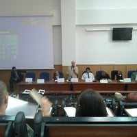 "Photo taken at Universitatea ""1 Decembrie 1918"" Alba Iulia by Andréia M. on 9/6/2012"