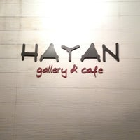Photo taken at Hayan gallery cafe' by chinnatach c. on 6/10/2012