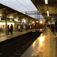 Photo taken at Yamato-Saidaiji Station (A26/B26) by 泰紀 玉. on 3/23/2012