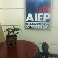 Photo taken at AIEP by Andrés P. on 8/27/2012