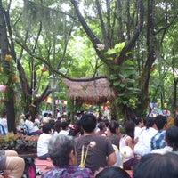 Photo taken at Wat Chonprathan Rangsarit by Chumpon T. on 8/19/2012