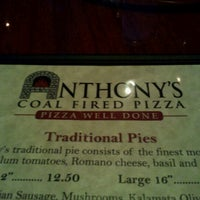 Photo taken at Anthony's Coal Fired Pizza by Ryan O. on 7/17/2012