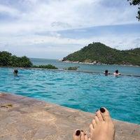 Photo taken at Panviman Resort Koh Phangan by Kate P. on 7/5/2012