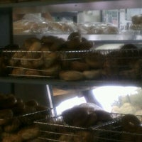 Photo taken at Bagelicious by Bo S. on 6/4/2012