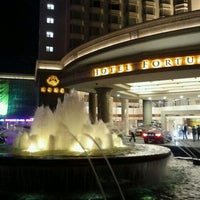 Photo taken at Hotel Fortuna 财神酒店 by Yeshwanth R. on 3/31/2012