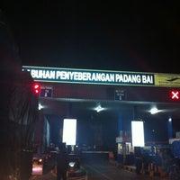 Photo taken at Pelabuhan Padang Bai by Kurniawan A. on 5/24/2012