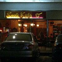 Photo taken at Souk Kafe by Christian L. on 4/9/2012