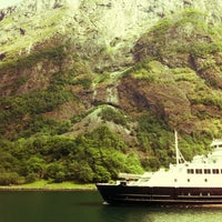 Photo taken at Oya International - Fjord Cruise by Liana G. on 7/6/2012