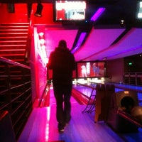 Photo taken at Strike Bowling Bar by Aimee H. on 4/24/2012