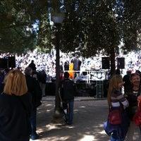 Photo taken at Plaça Catalunya by Helena T. on 3/11/2012