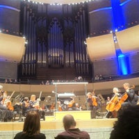 Photo taken at Francis Winspear Centre by mm d. on 3/3/2012