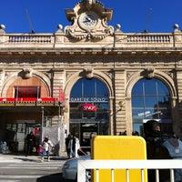 Photo taken at Gare SNCF de Toulon by Vianney L. on 2/16/2012