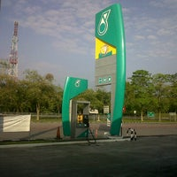 Photo taken at PETRONAS Station by Fizie A. on 8/20/2012