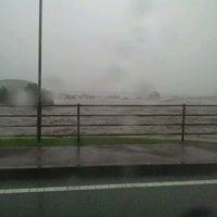 Photo taken at 船小屋温泉大橋 by GATTACA on 7/13/2012