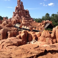 Photo taken at Big Thunder Mountain Railroad by Alexander T. on 6/2/2012