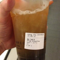 Photo taken at Gong Cha 贡茶 by Alainlicious on 8/11/2012