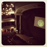Photo taken at Teatro Popular Melico Salazar by Silvia T. on 8/27/2012
