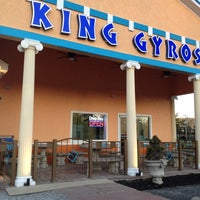 Photo taken at King Gyro's Greek Restaurant by David H. on 4/6/2012