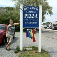 Photo taken at Provincetown House Of Pizza by Steven P. on 8/12/2012
